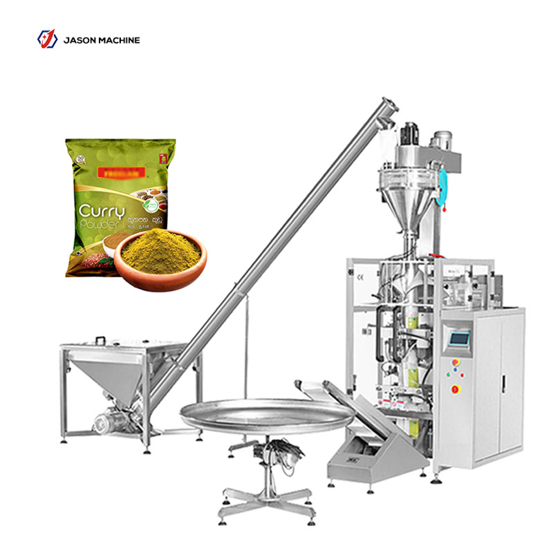 Automatic filling curry ginger powder packing machine packaging