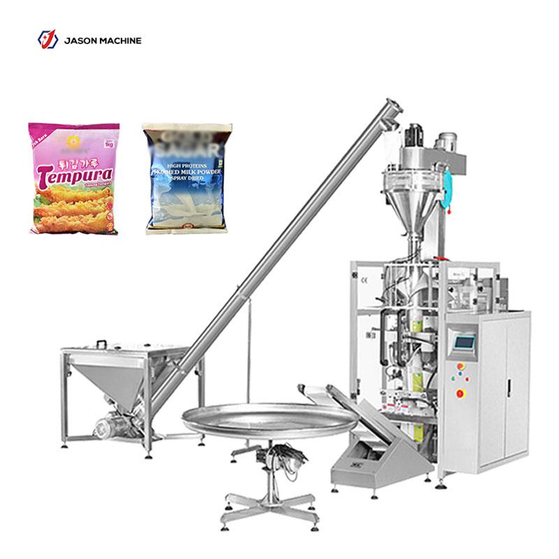 Vertical food packaging milk powder flour machine