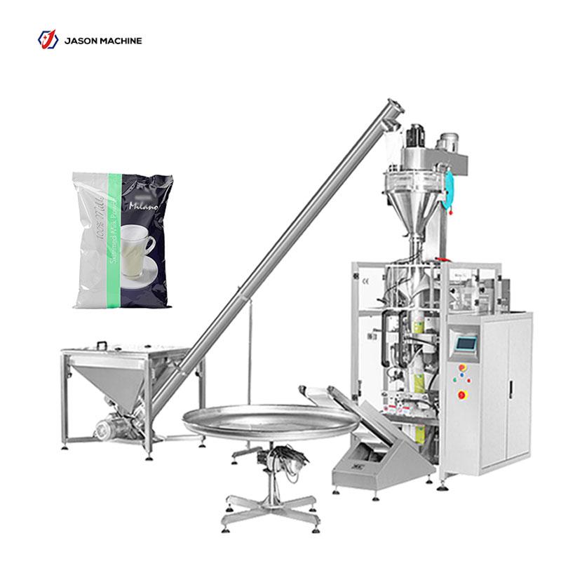 Automatic milk powder pouch packing machine