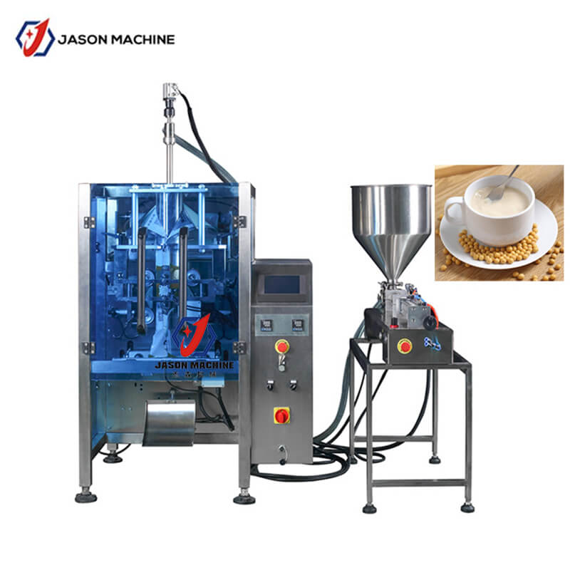 Automatic liquid soft drink soya milk packaging machine