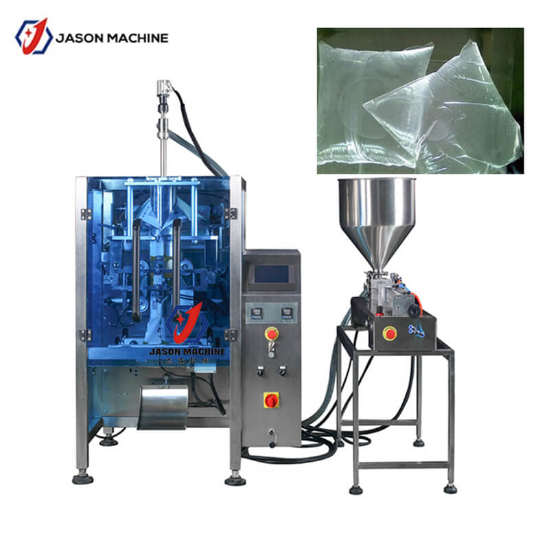 Factory price liquid glue pouch packing machine