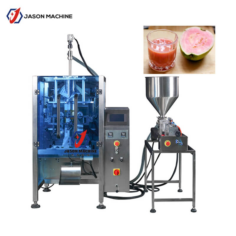 High quality pink guava juice filling and packing machine
