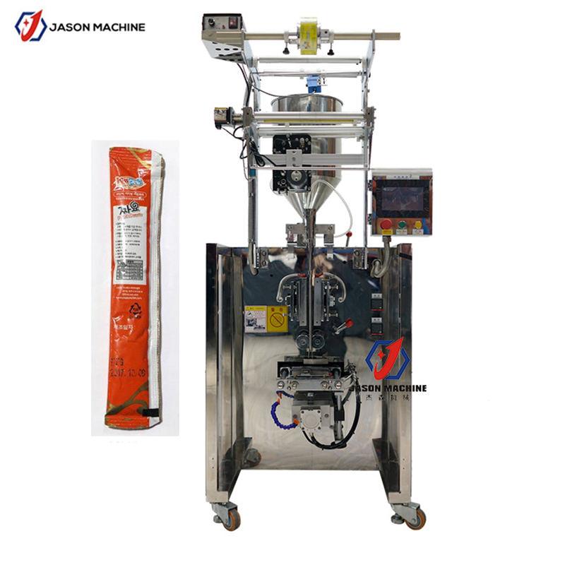 Automatic liquid paste special shape round corner sachet packing machine factory price
