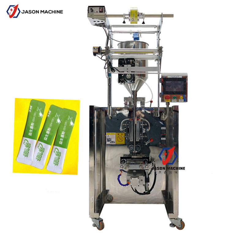 Automatic jam back sealing rounded corner packing machine