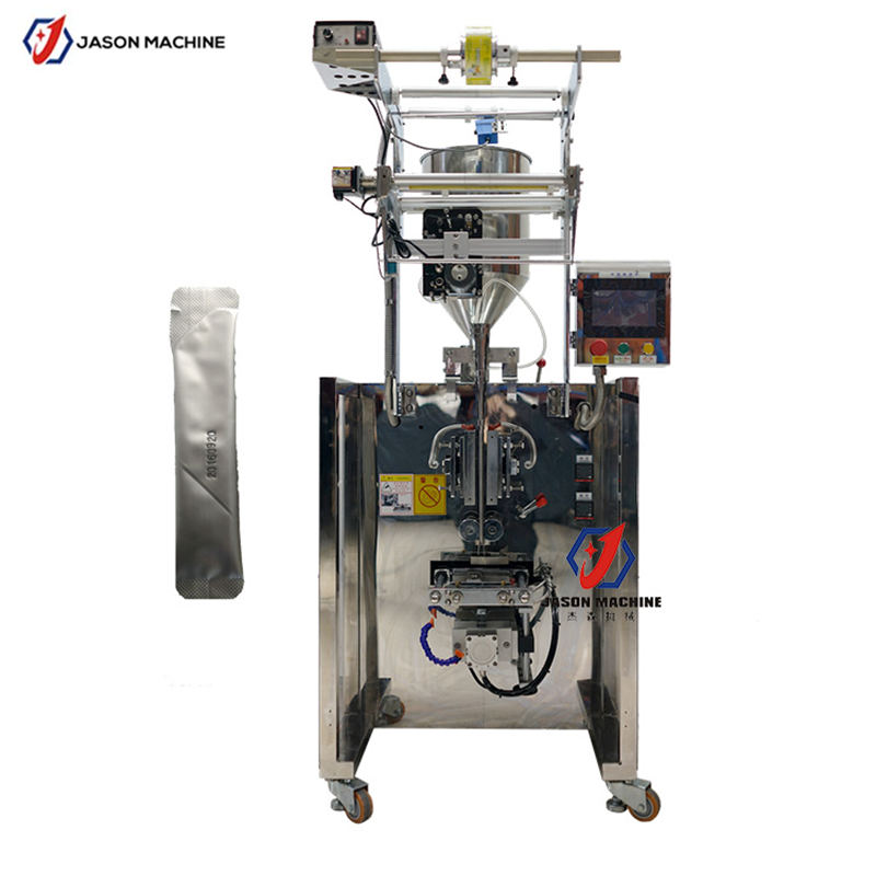 Automatic Liquid Pouch Paste Jam Oil Packing Filling Machine