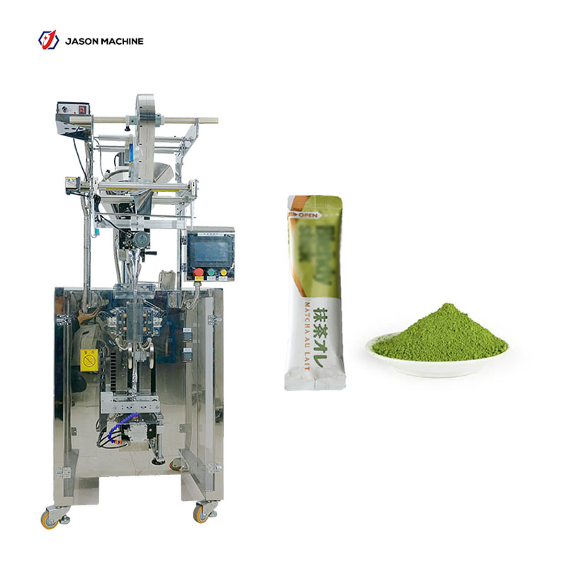 Full automatic round bag packing matcha tea powder packing machine