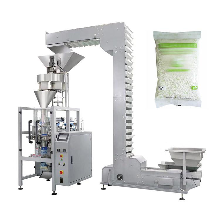 Automatic 2kg rice sugar bag granule packing machine