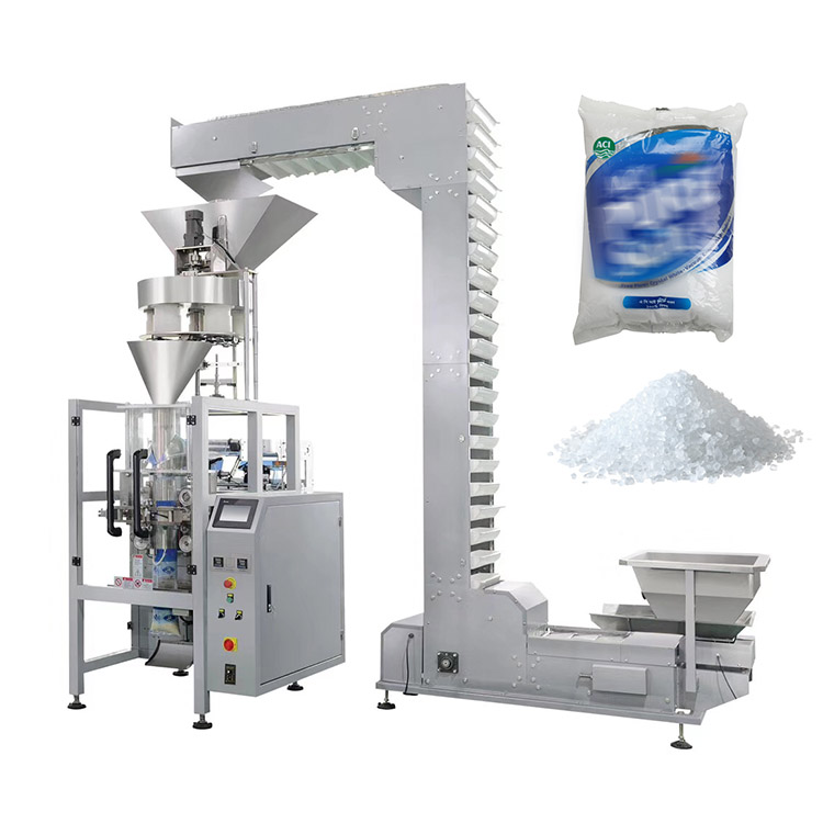 High speed automatic pouch iodized salt sugar packing machine 1kg