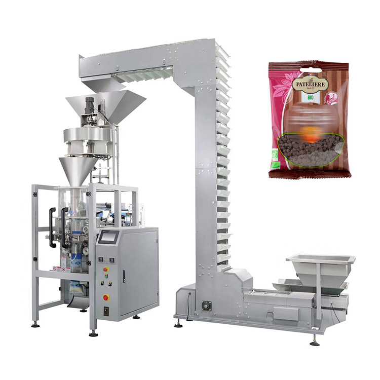 100g automatic snacks sunflower seeds cashew nut packing machine