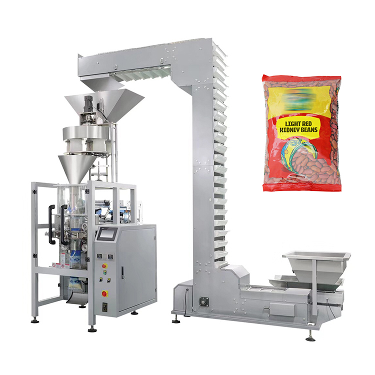 Automatically high speed weighing roasted peanut packing machine