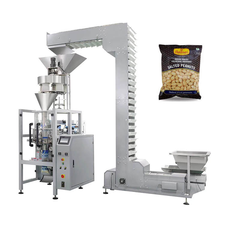 Automatic puffed rice plastic packing machine bag for 1kg 2kg 5kg