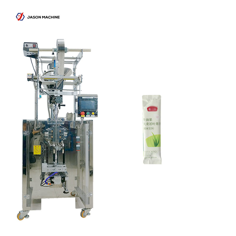 Full automatic round corner pouch instant coffee powder packing machine