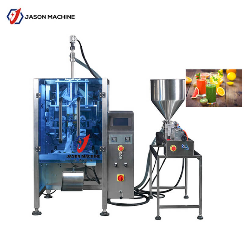 500-1000ml New Design Fruit Juice Packing Machine Liquid Wrapping Machine