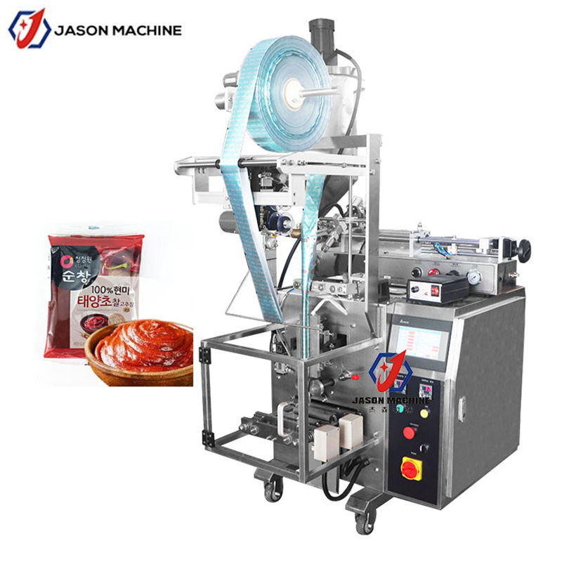 Automatic chili sauce filler BBQ sauce sachet packing machine