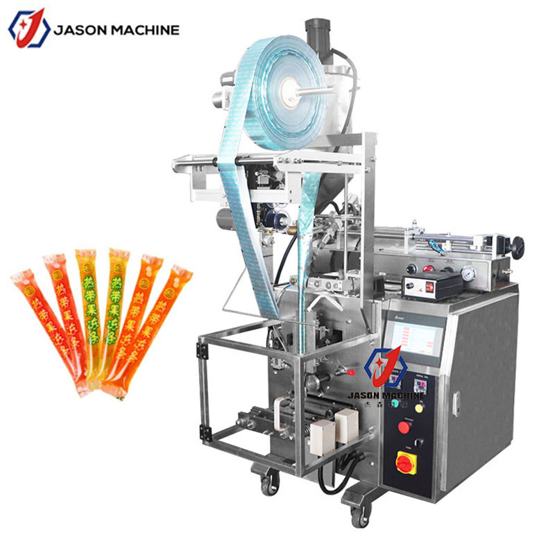 Automatic plastic bag liquid fruit juice ice lolly popsicle filling sealing packing machine price