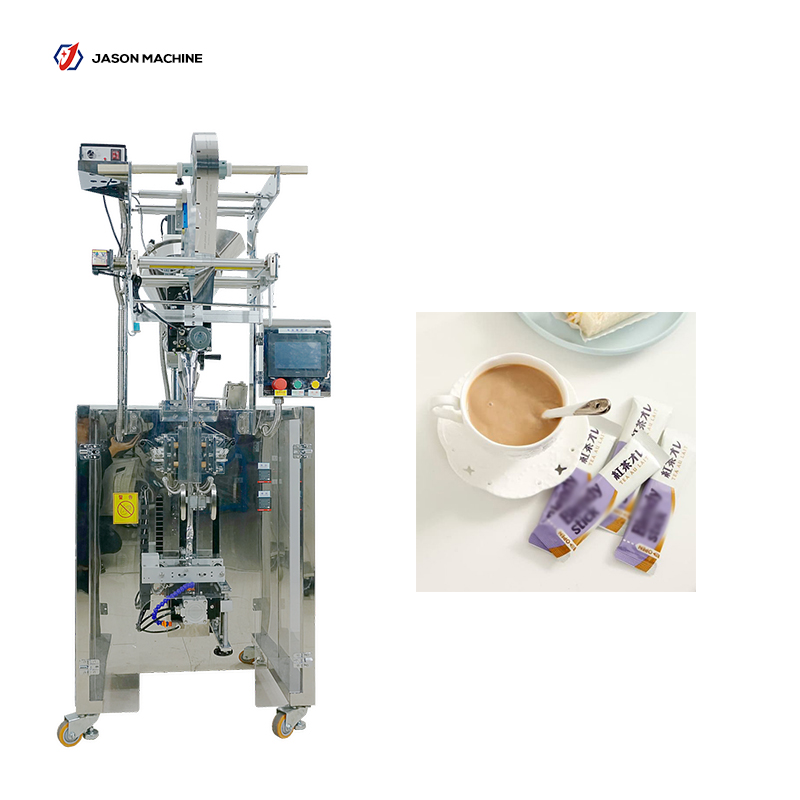 Automatic stick packing instant drink powder protein powder packing machine