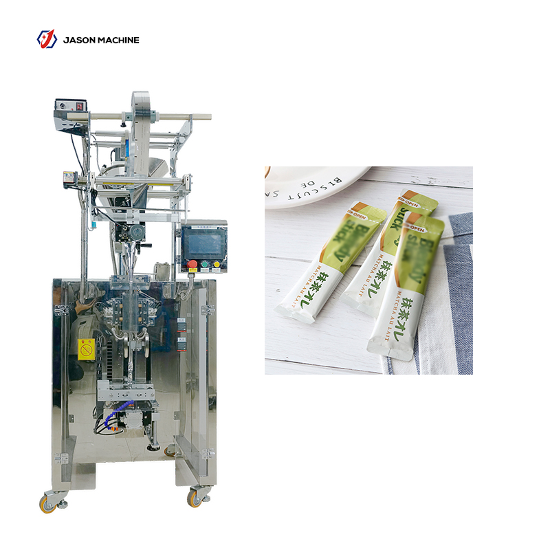 Full automatic long stick wheatgrass powder red tea powder packing machine