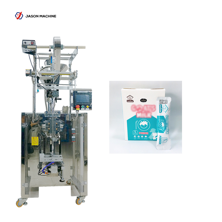 Full automatic round corner bag packing milk powder machine