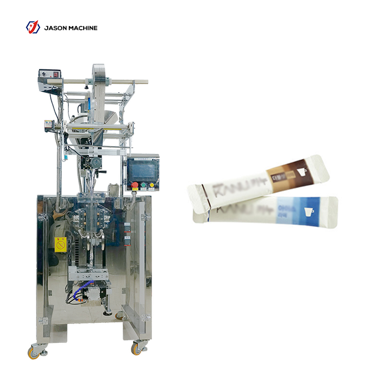 Automatic round corner bag creamer powder packing machine