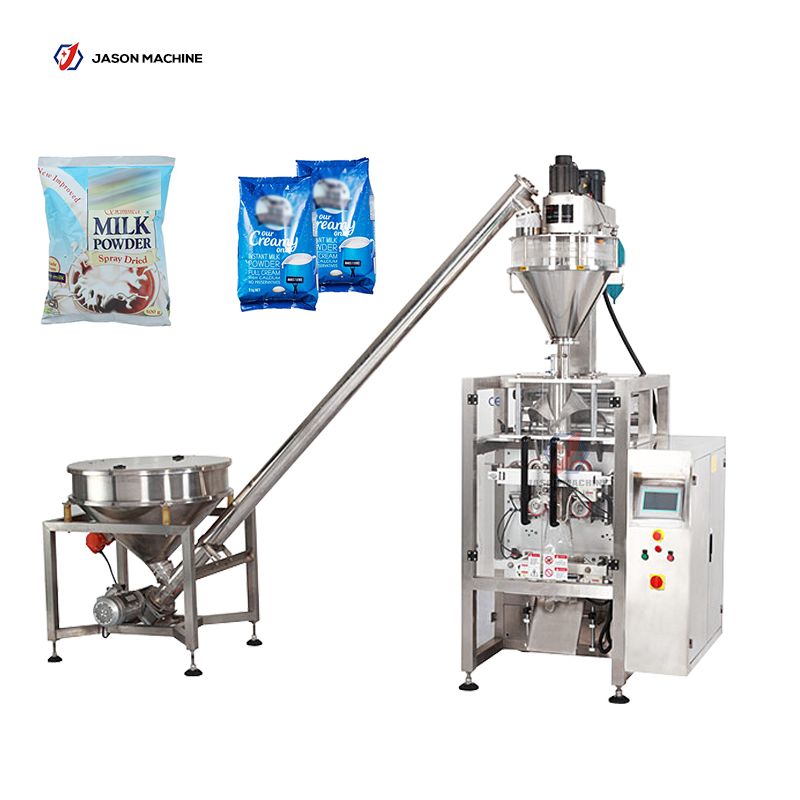 Vertical automatic powder packing machine for milk powder flour
