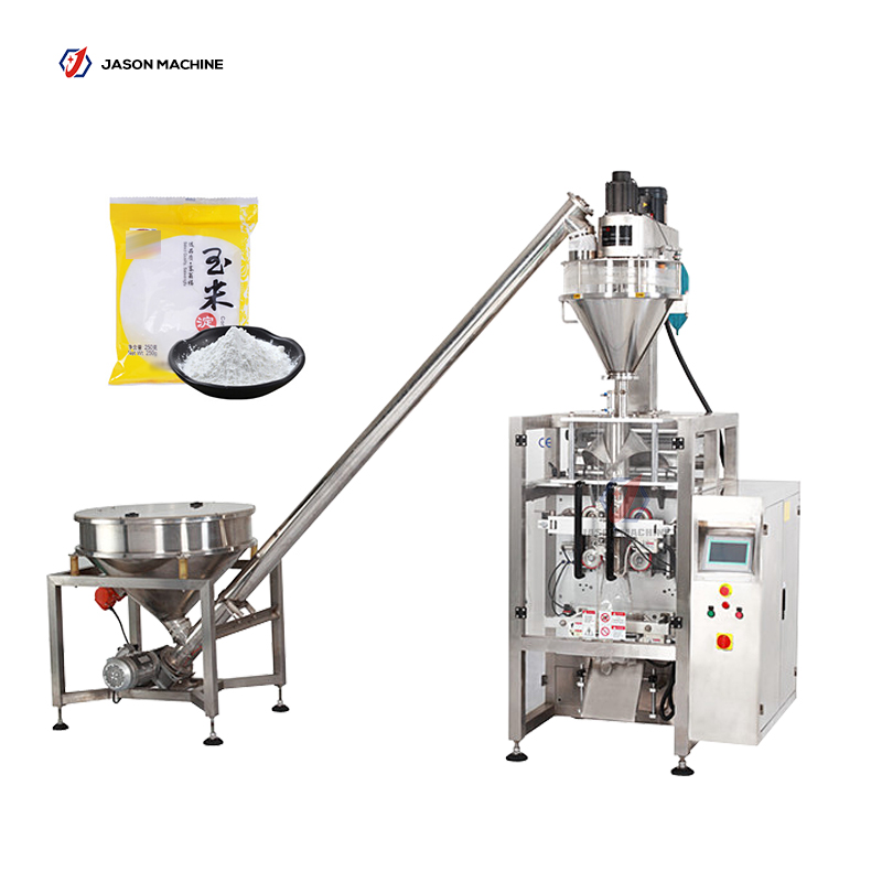 Automatic corn flour packing machine
