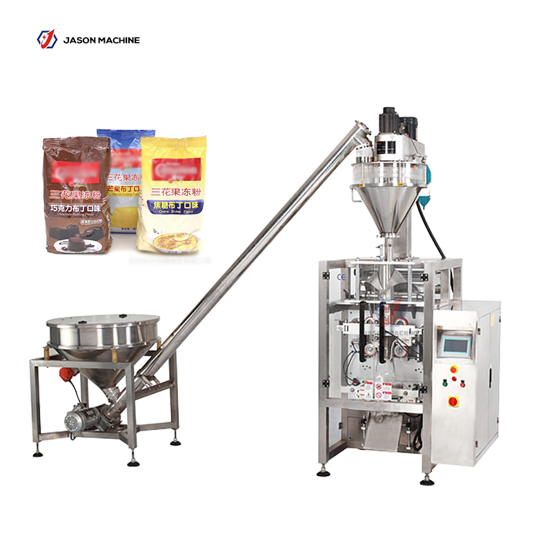Full automatic pouch toner powder chemical powder packing machine