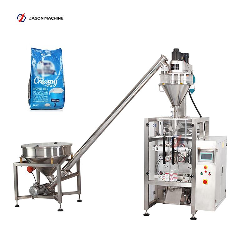 Full automatic gusset bag packing milk powder coffee powder packing machine