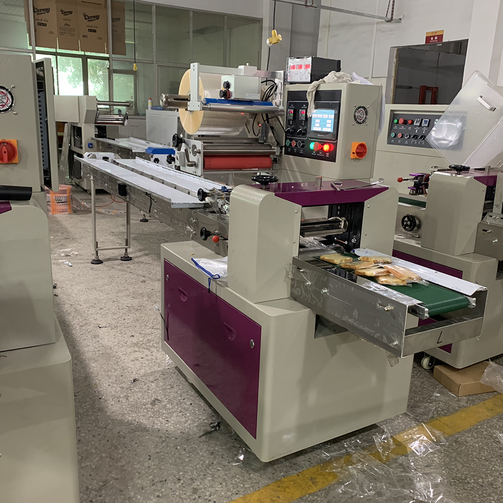 Horizontal Flowpack Disposable Gloves/Face Mask Packing Machine Suppliers