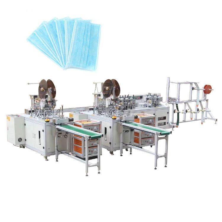 Automatic medical mask production machine