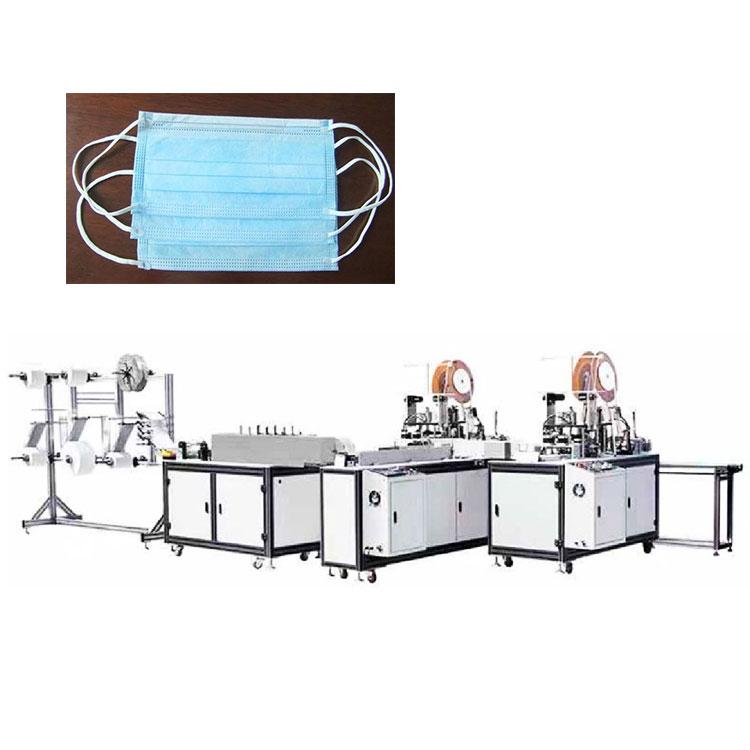 Full automatic mask face medical surgical mask making machine