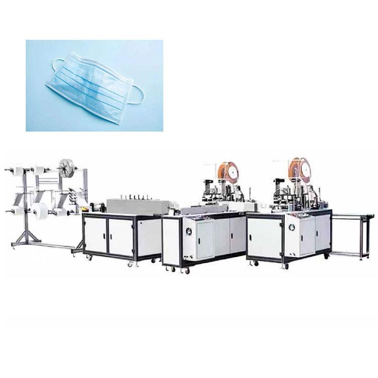 Full automatic medical face mask making machine