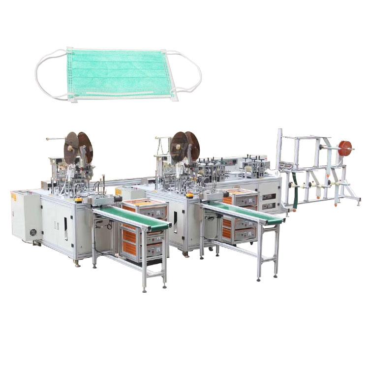 Full automatic face mask production making machine