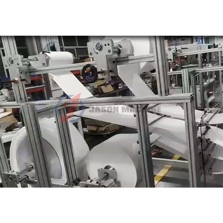 N95 respirator earloop medical mask machine making automatic