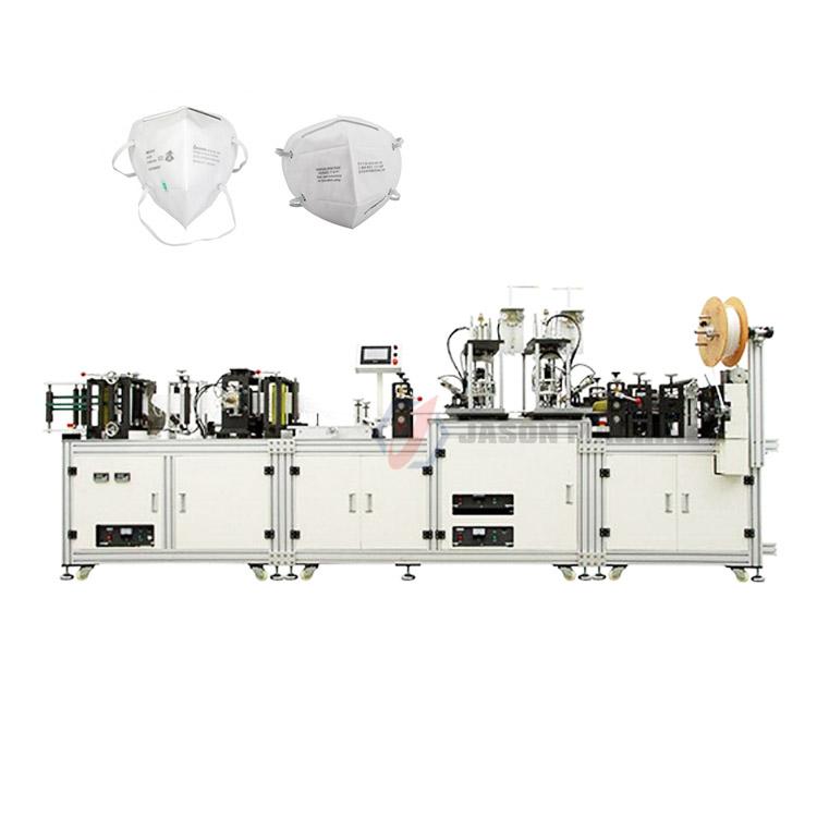 automatic n95 medical dust masks making machine