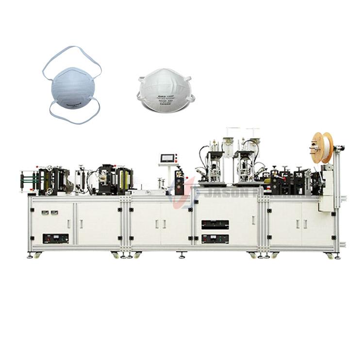automatic n95 face mask respirator making machine
