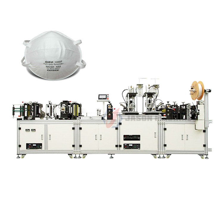 auto n95 earloop mask production line making machine