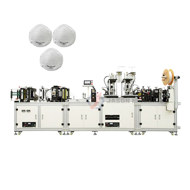 Full automatic medical mask n95 production line machine