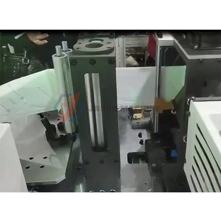 Full automatic hand press n95 mask making machine