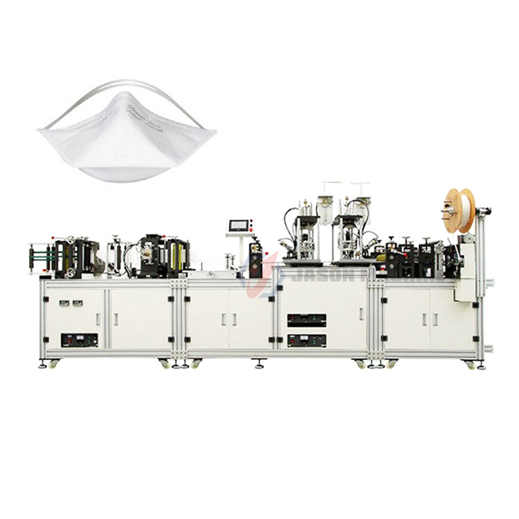 Automatic nonwoven medical n95 face mask produce making machinery