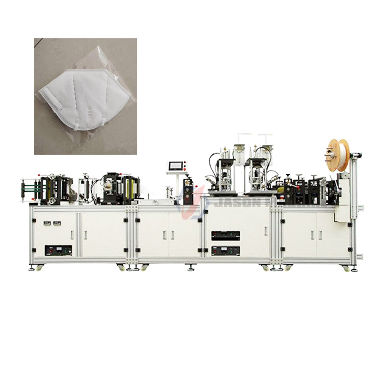 Automatic production making medical face surgical mask n95 machine supplier