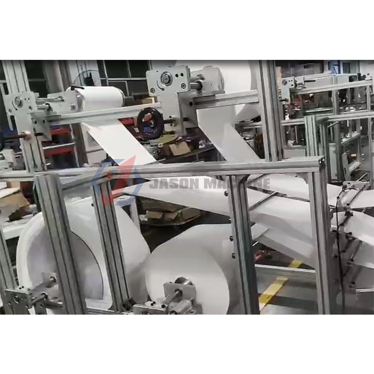 China supplier n95 face mask machine maskque automatically