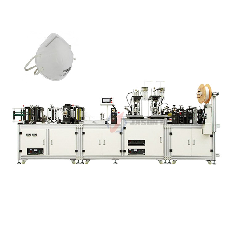 Automatic medical dust mask nonwoven n95 production machine