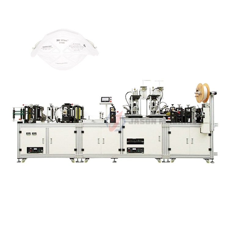 Full automatic n95 surgical mask manufacturing making machine