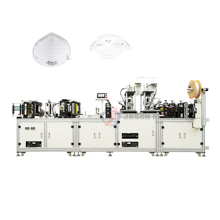 Automatic kf94 n95 mask production line making machine