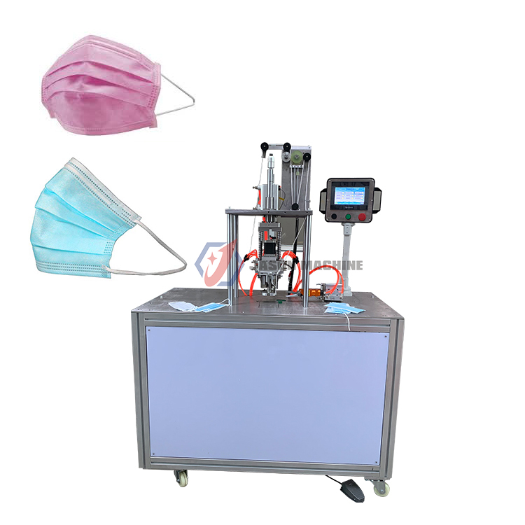 ultrasonic face mask with ear loop welding ultrasonic mask machine