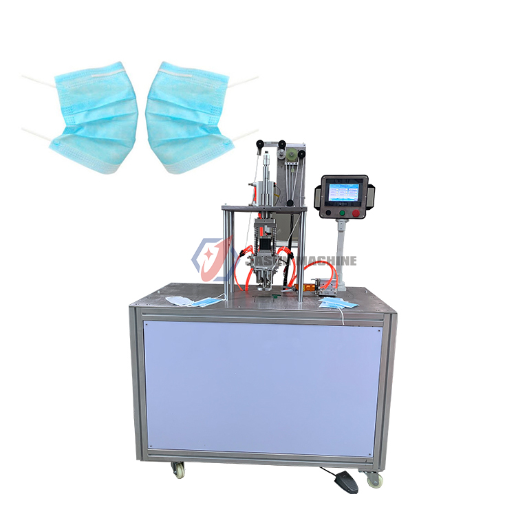 ultrasonic face mask ear loop spot welding machine masks ear loop machine
