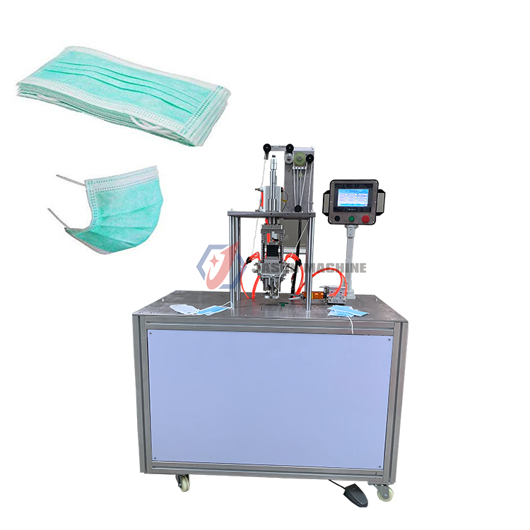 ear-loop face masks ultrasonic non woven mask spot welding machine