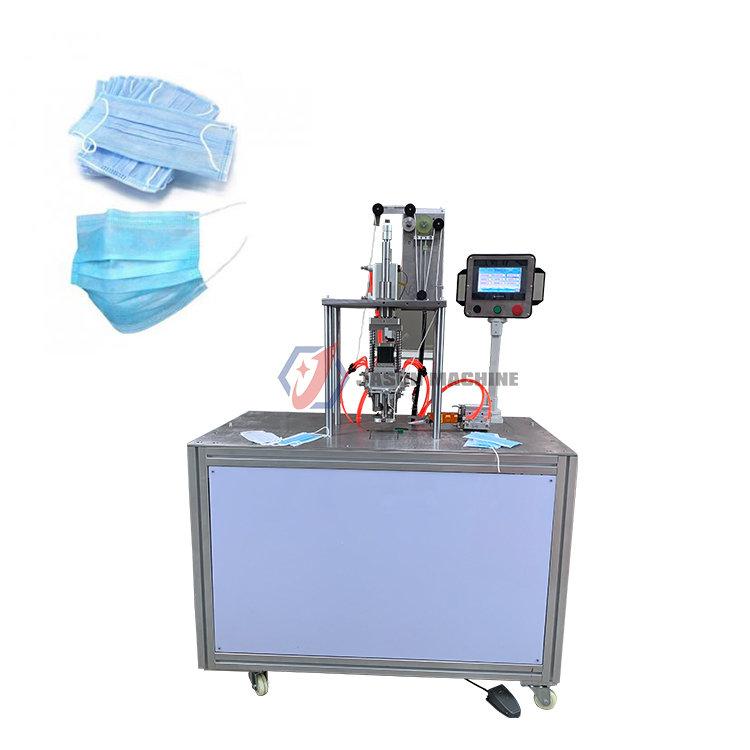 Disposable ear-loop mask ear loop cutting machine ear loop face mask making machine