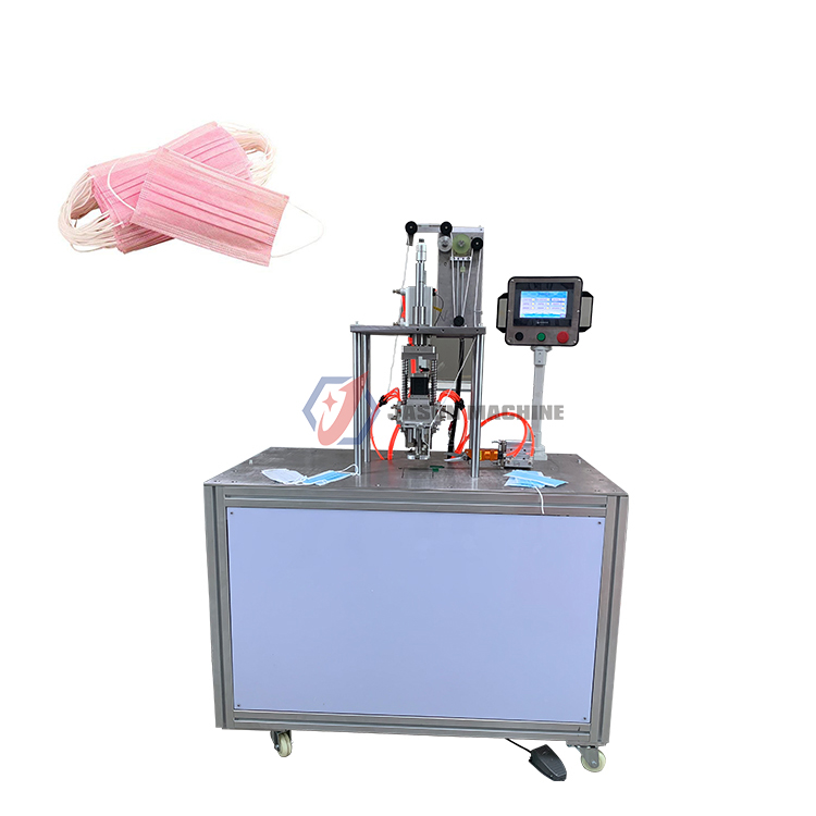 ultrasonic 3 ply mask ear loop making welding machine