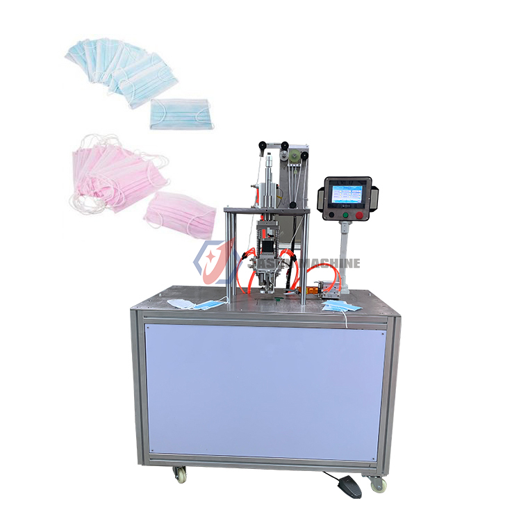 elastic ear loop making face mask ear loop spot welding machine